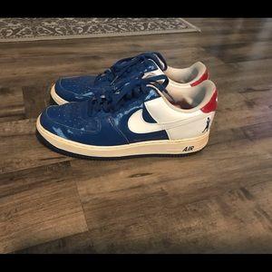 Nike Air Force 1 Sheed Blue Jay 05 SZ 11 Sneakers